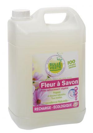 FLEUR A SAVON 5L BULLE VERTE