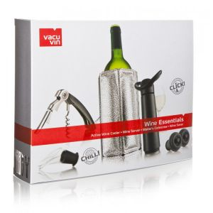 COFFRET VIN WINE ESSENTIALS NOIR